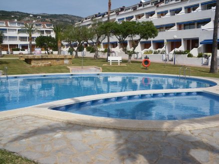 LOCATION ESPAGNE (ALCOCEBRE) FRONT DE MER APPARTEMENT PISCINES TENNIS PARKING(